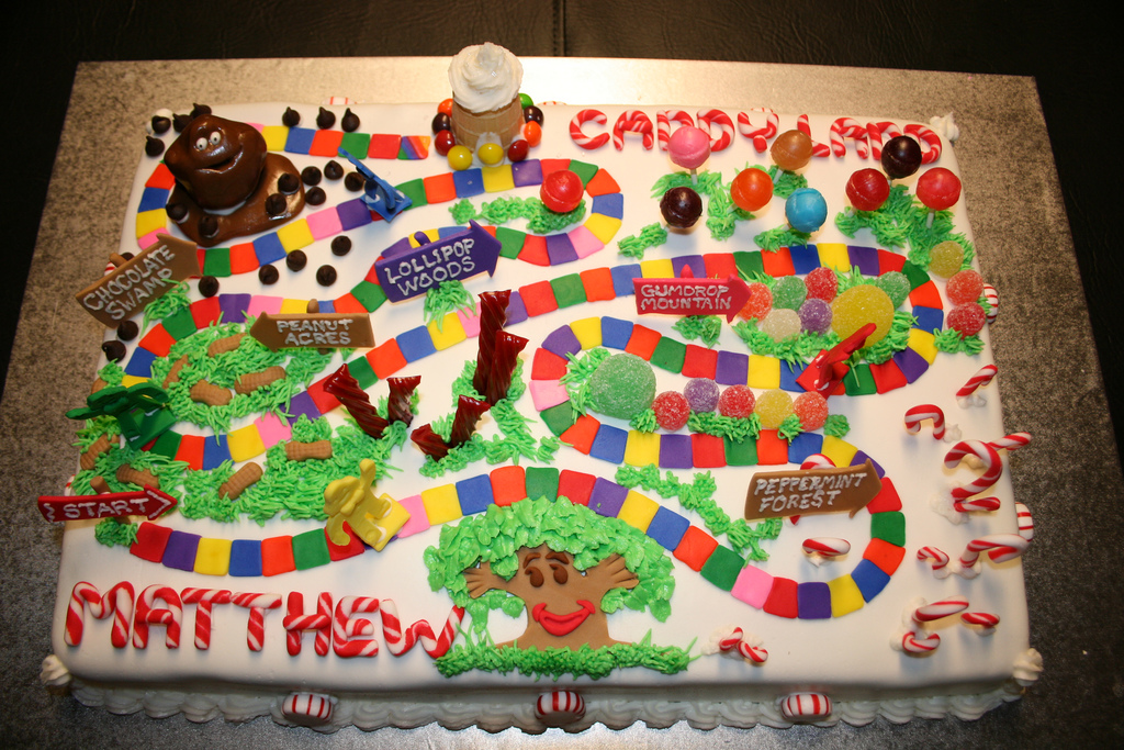 Images of Candyland Cakes