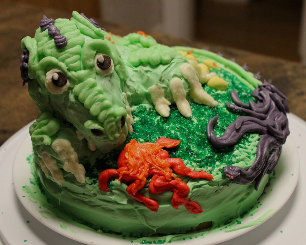 Images of Dragon Cakes