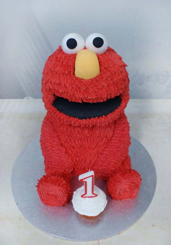 Images of Elmo Cakes