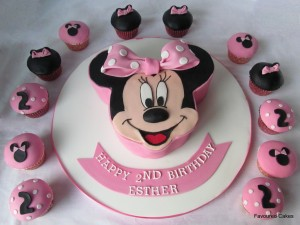 Images of Minnie Mouse Birthday Cakes