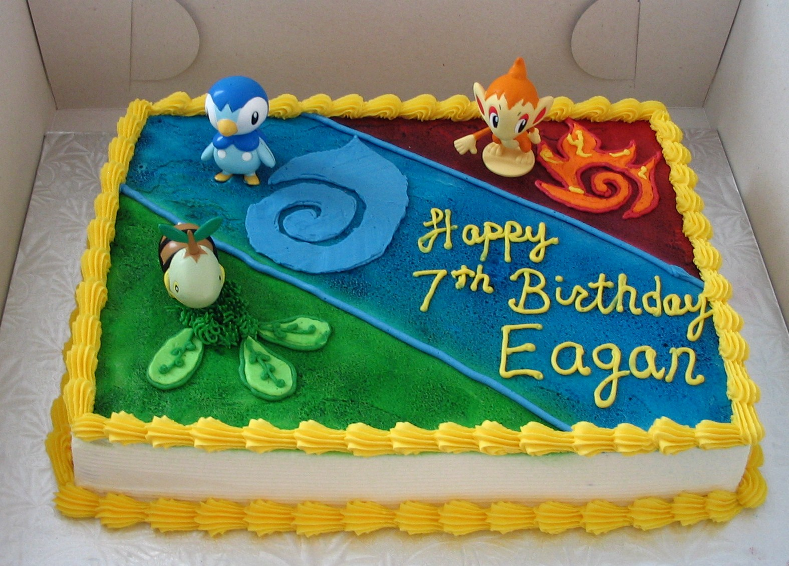 Fine Pokemon Cakes Decoration Ideas Little Birthday Cakes Personalised Birthday Cards Bromeletsinfo