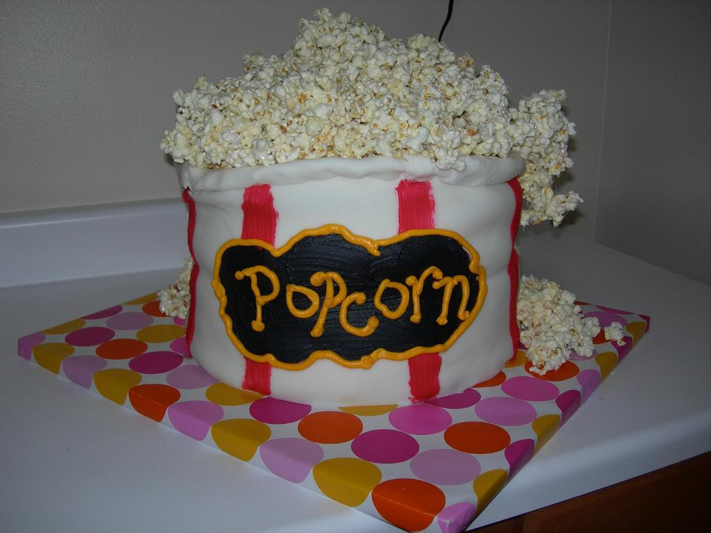 Images of Popcorn Cake