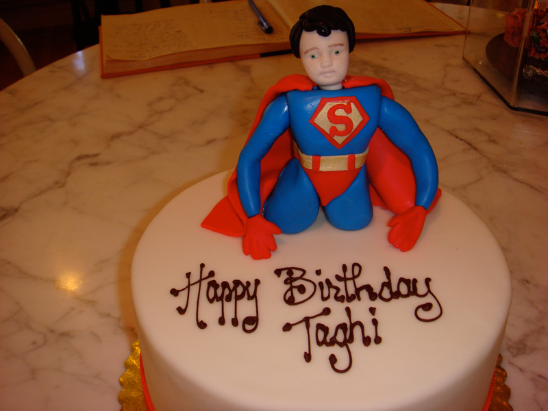 Images of Superman Cake