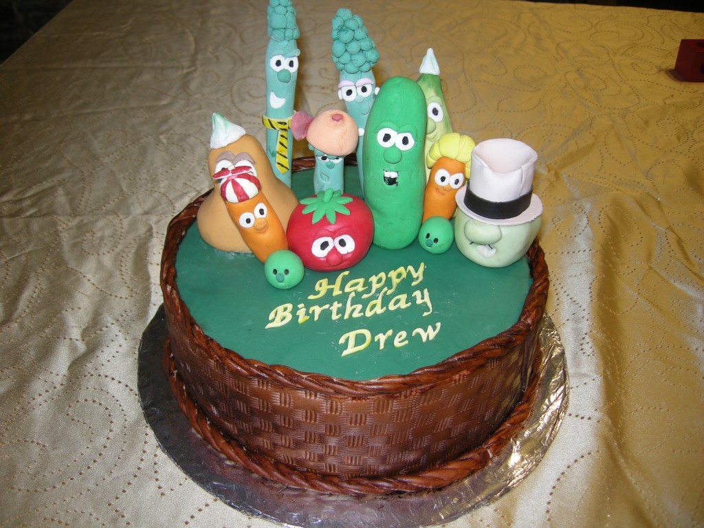 Images of Veggie Tales Cake