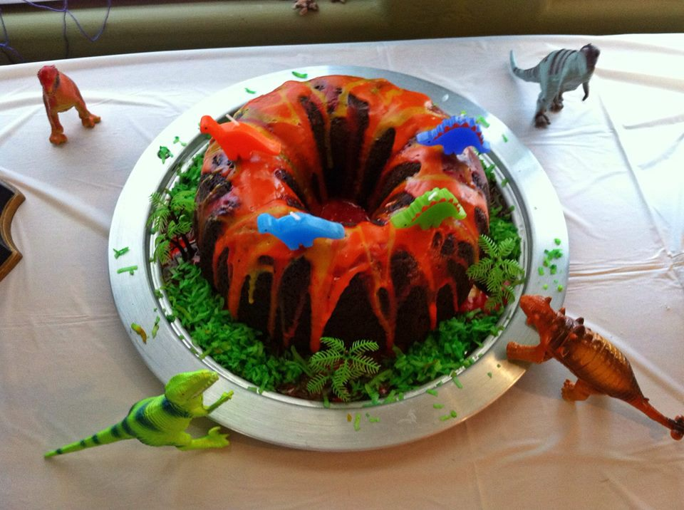 Images of Volcano Cake