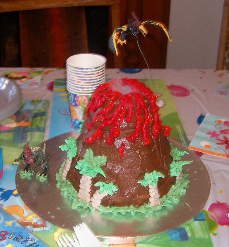Images of Volcano Cakes