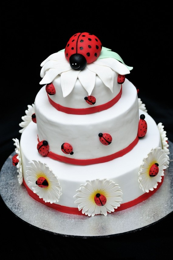 Ladybug Cake Designs