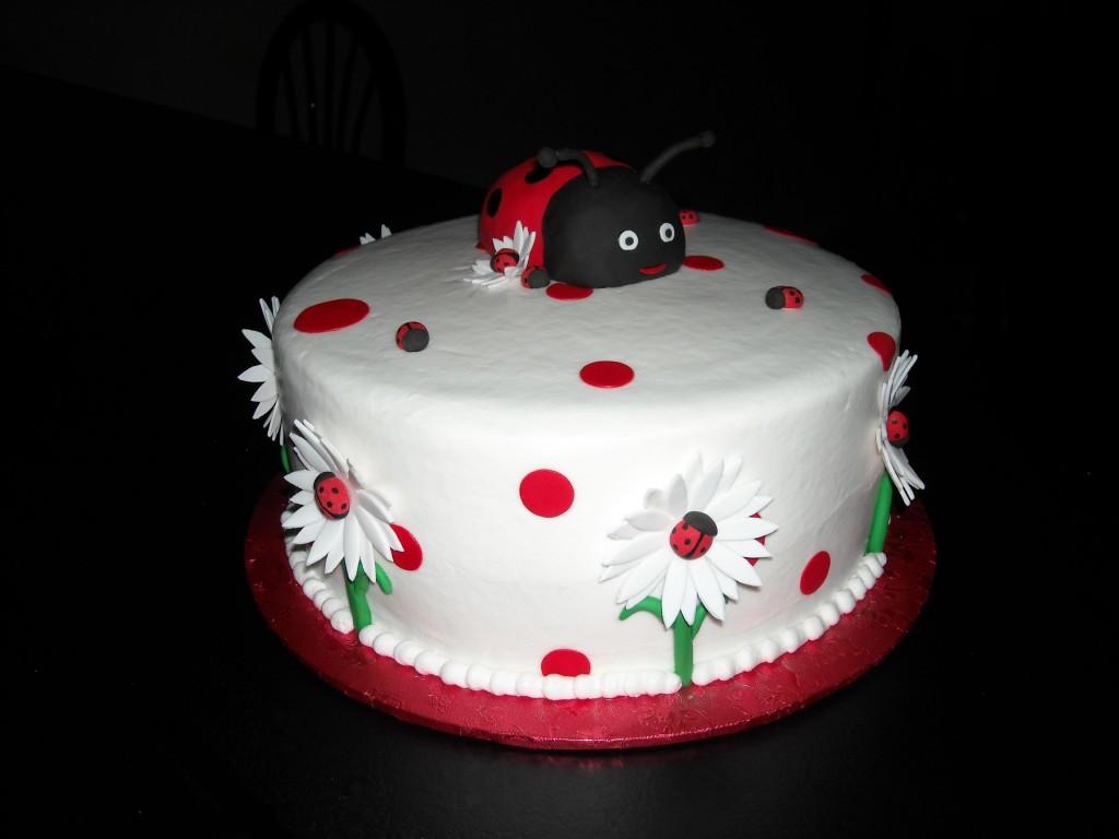 Ladybug Cake Photos
