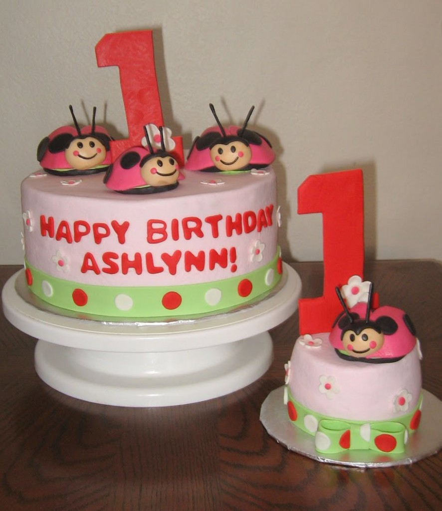 Ladybug Cake Toppers