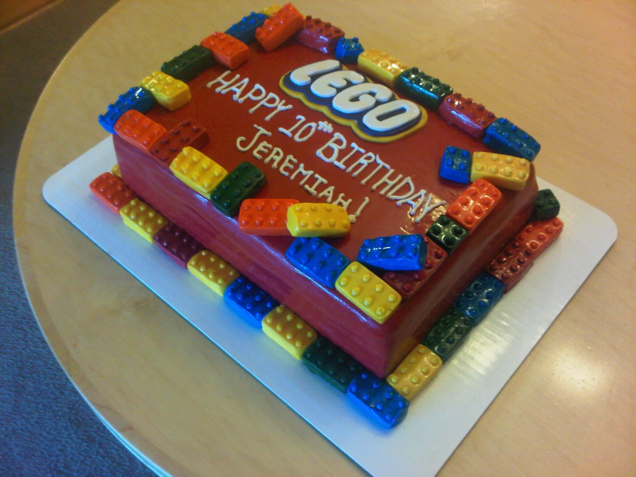 Prime Lego Cakes Decoration Ideas Little Birthday Cakes Funny Birthday Cards Online Fluifree Goldxyz