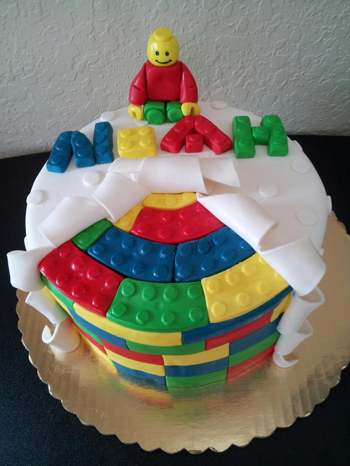 Lego Cake Pictures