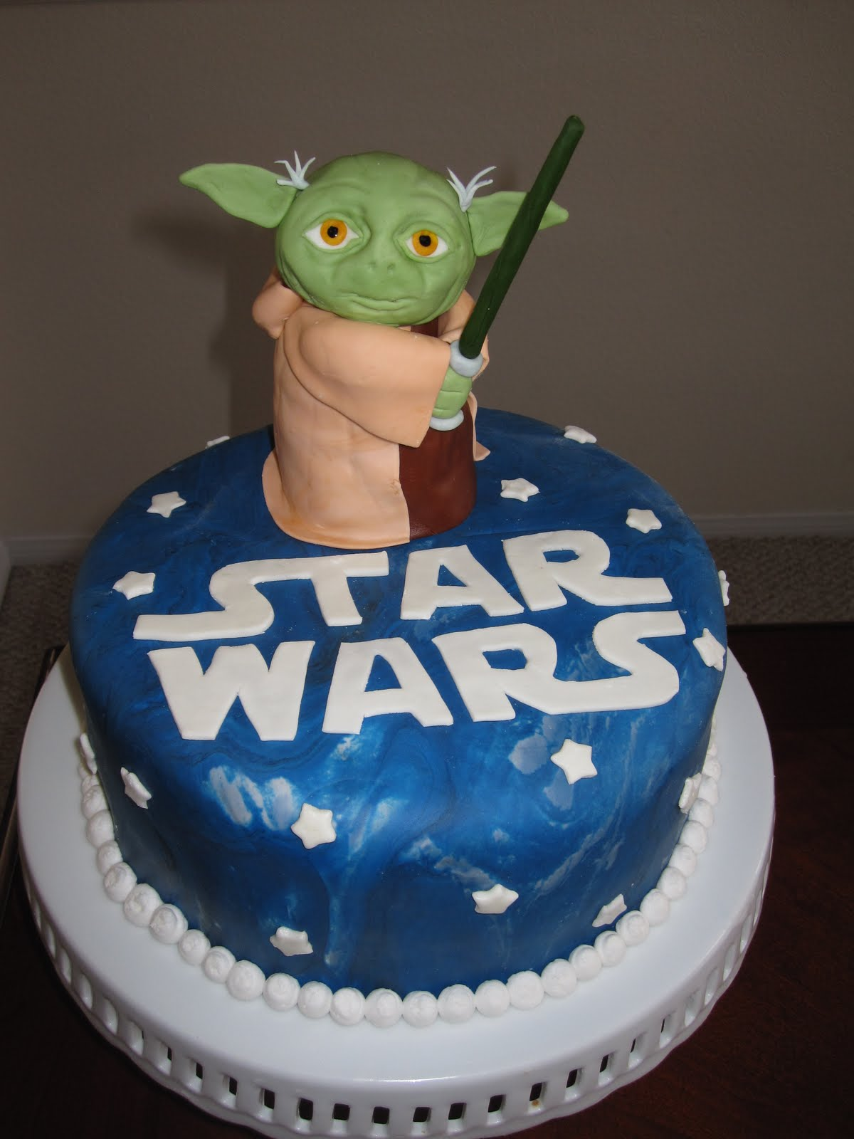 Remarkable Star Wars Cakes Decoration Ideas Little Birthday Cakes Funny Birthday Cards Online Overcheapnameinfo