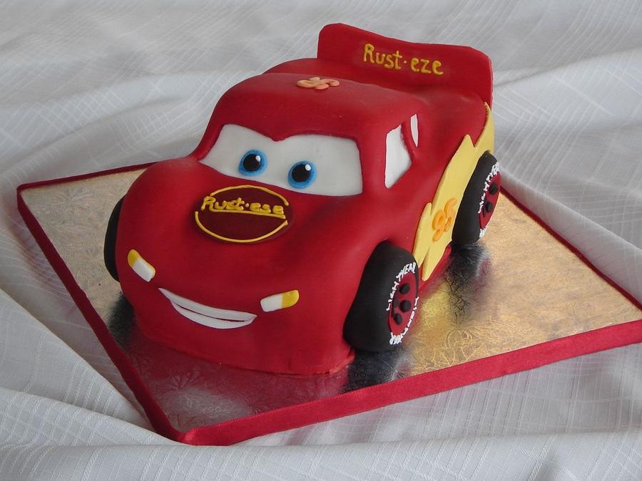 Lightning Mcqueen Cake Images