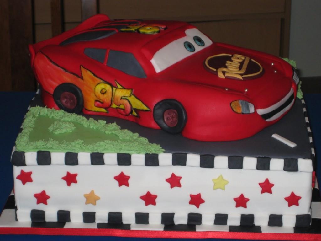 Lightning Mcqueen Cake Pictures