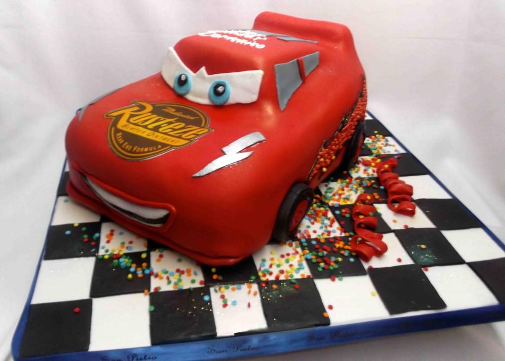 Lightning Mcqueen Cakes For Kids