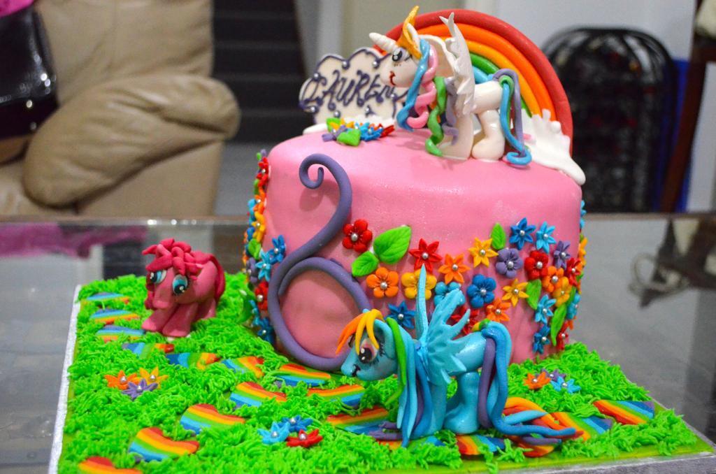 Peachy My Little Pony Cakes Decoration Ideas Little Birthday Cakes Funny Birthday Cards Online Alyptdamsfinfo