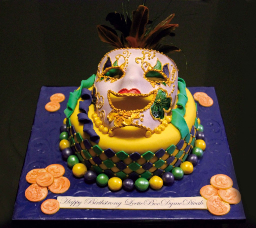 Mardi Gras Cake Ideas