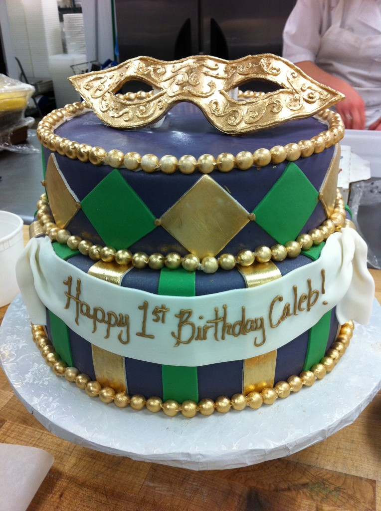 Mardi Gras Cakes Picture