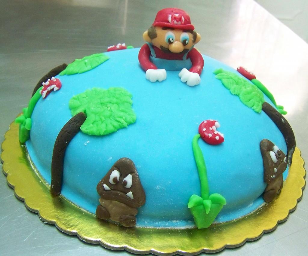 Mario Birthday Cake