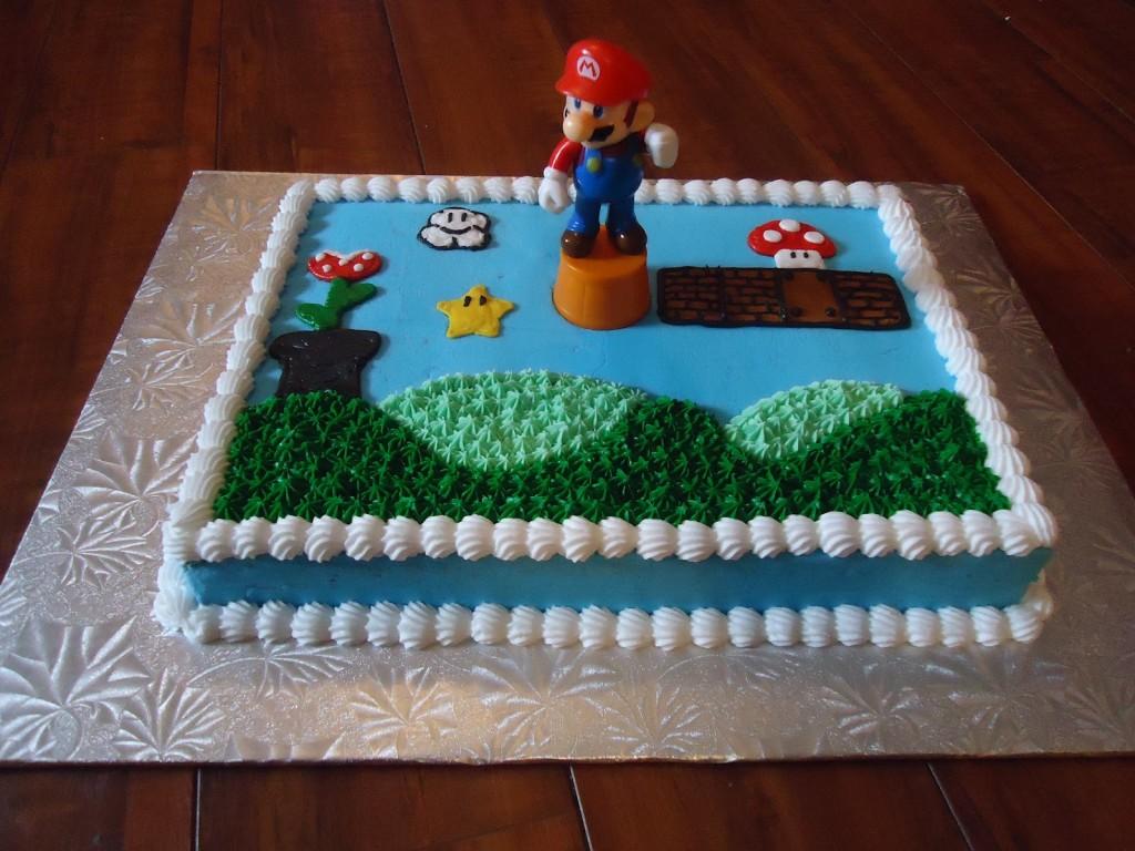 Mario Cake Pictures