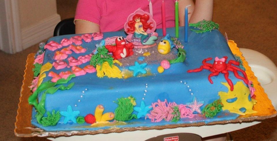Outstanding Mermaid Cakes Decoration Ideas Little Birthday Cakes Funny Birthday Cards Online Elaedamsfinfo