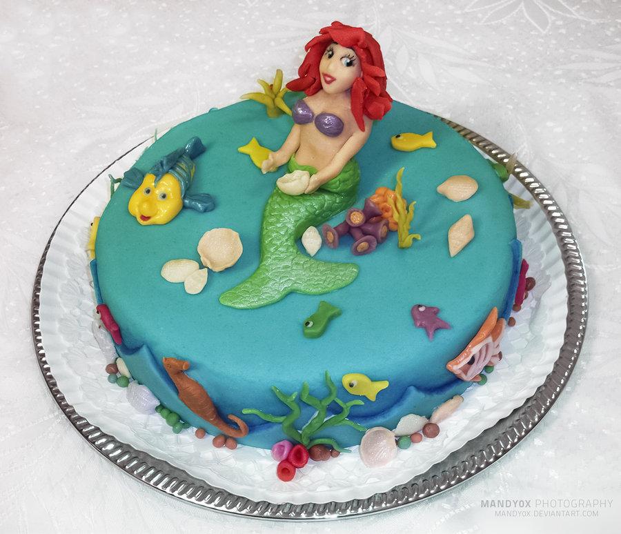 Mermaid Cake Photos