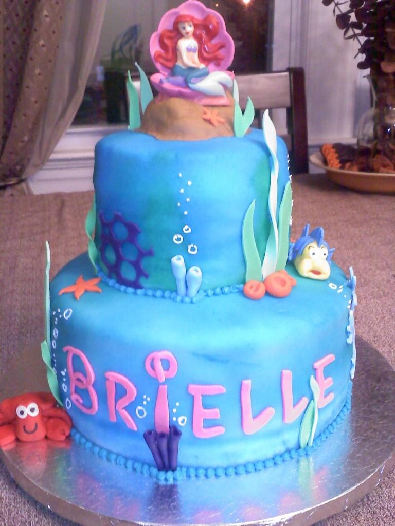 Mermaid Cake Topper