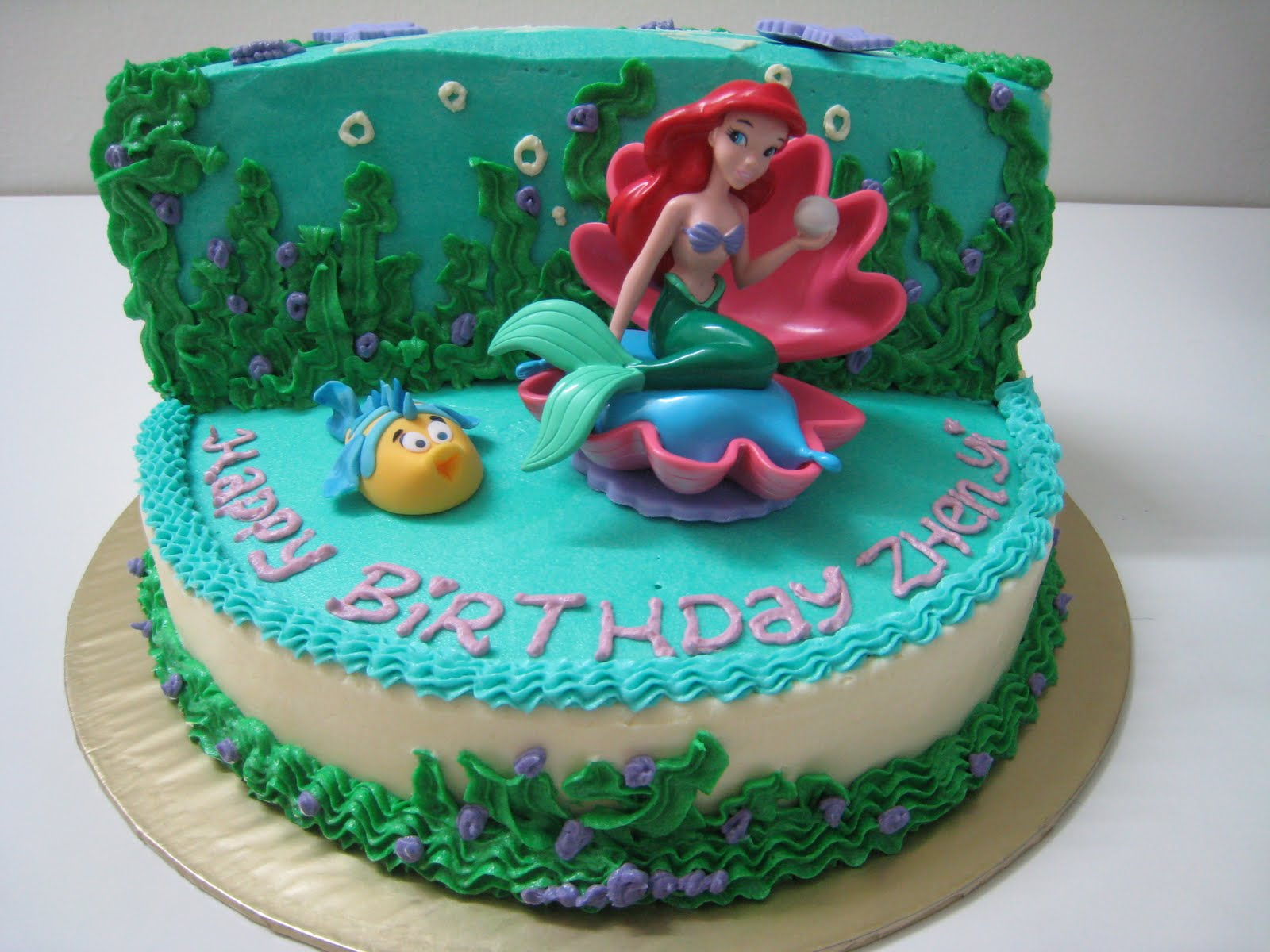 Excellent Mermaid Cakes Decoration Ideas Little Birthday Cakes Funny Birthday Cards Online Fluifree Goldxyz