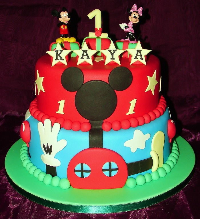 Mickey Mouse Birthday Cake Ideas