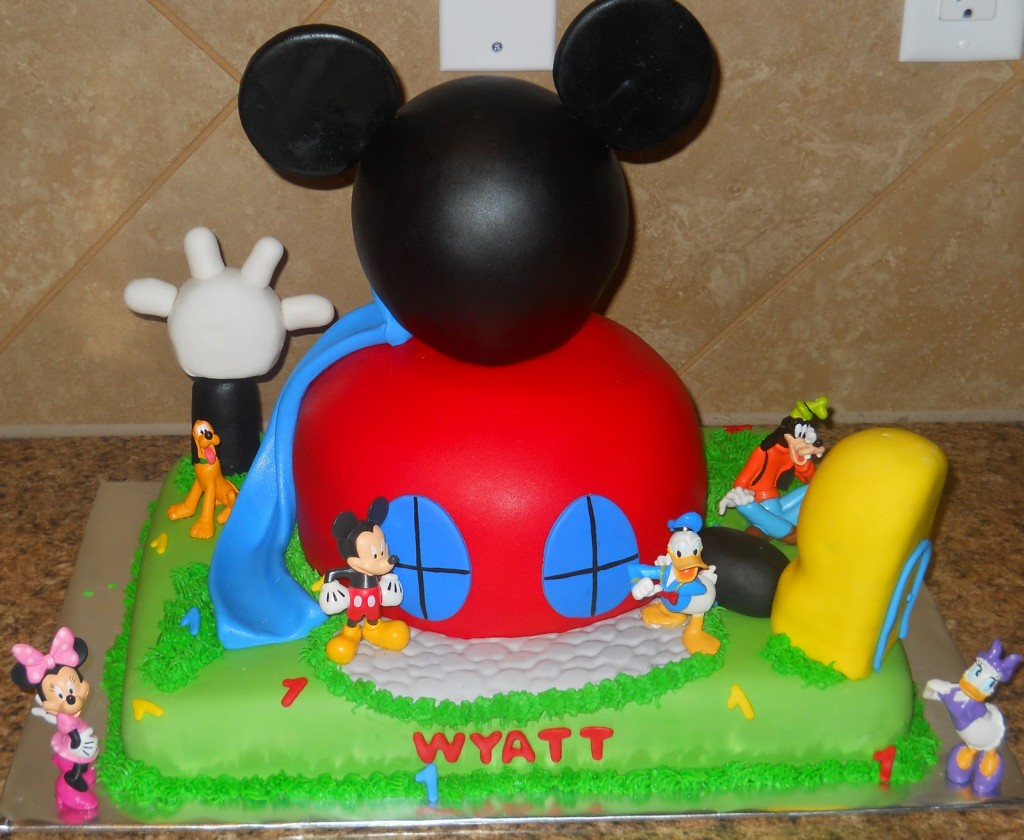 Mickey Mouse Clubhouse Cakes