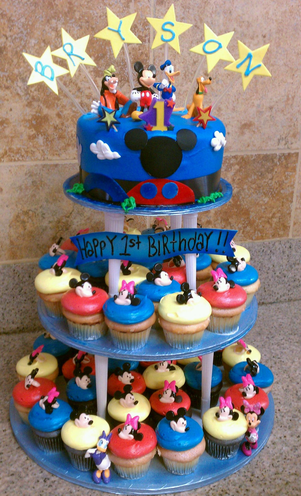 Magnificent Mickey Mouse Cake Decoration Ideas Little Birthday Cakes Funny Birthday Cards Online Inifofree Goldxyz