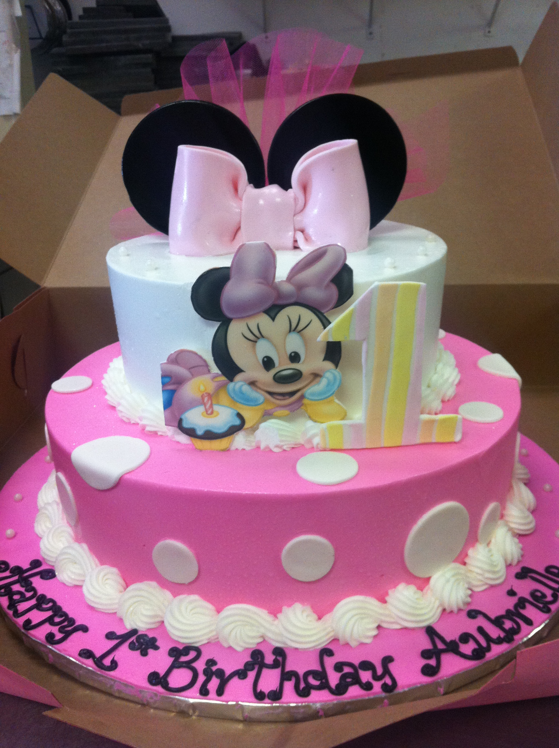 Minnie Mouse Bday Cakes