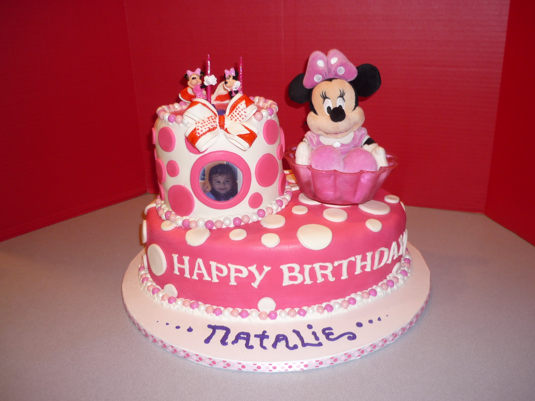 Amazing Minnie Mouse Cakes Decoration Ideas Little Birthday Cakes Funny Birthday Cards Online Overcheapnameinfo