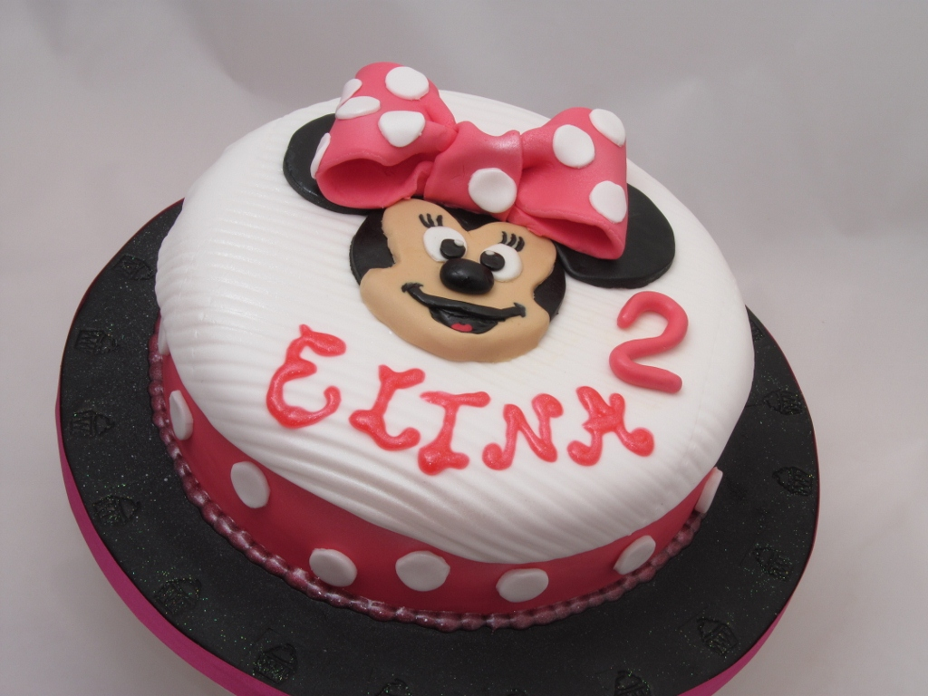 Surprising Minnie Mouse Cakes Decoration Ideas Little Birthday Cakes Funny Birthday Cards Online Fluifree Goldxyz
