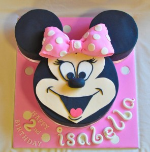 Minnie Mouse Cake Pics