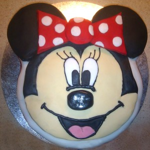 Minnie Mouse Cakes Designs