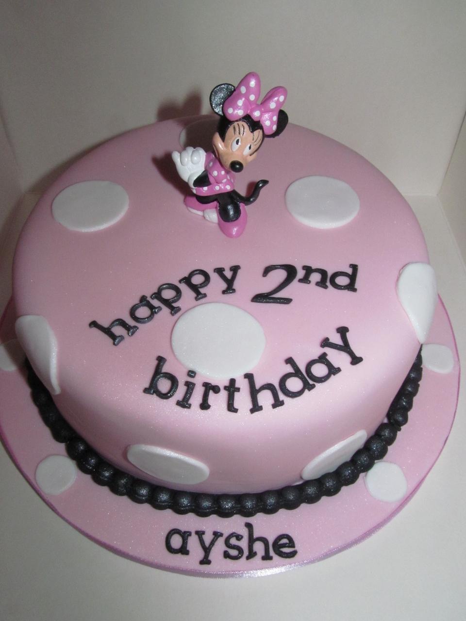 Brilliant Minnie Mouse Cakes Decoration Ideas Little Birthday Cakes Funny Birthday Cards Online Amentibdeldamsfinfo