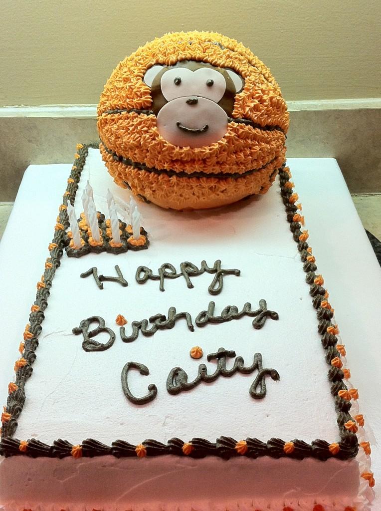 Monkey Ball Cake
