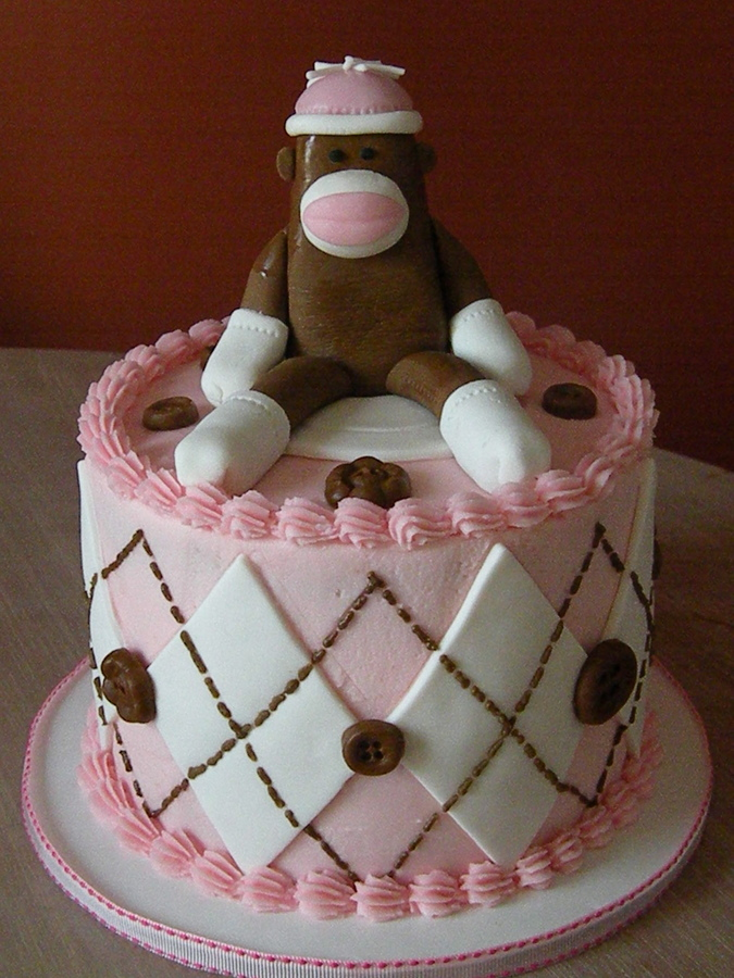 Monkey Birthday Cake Ideas