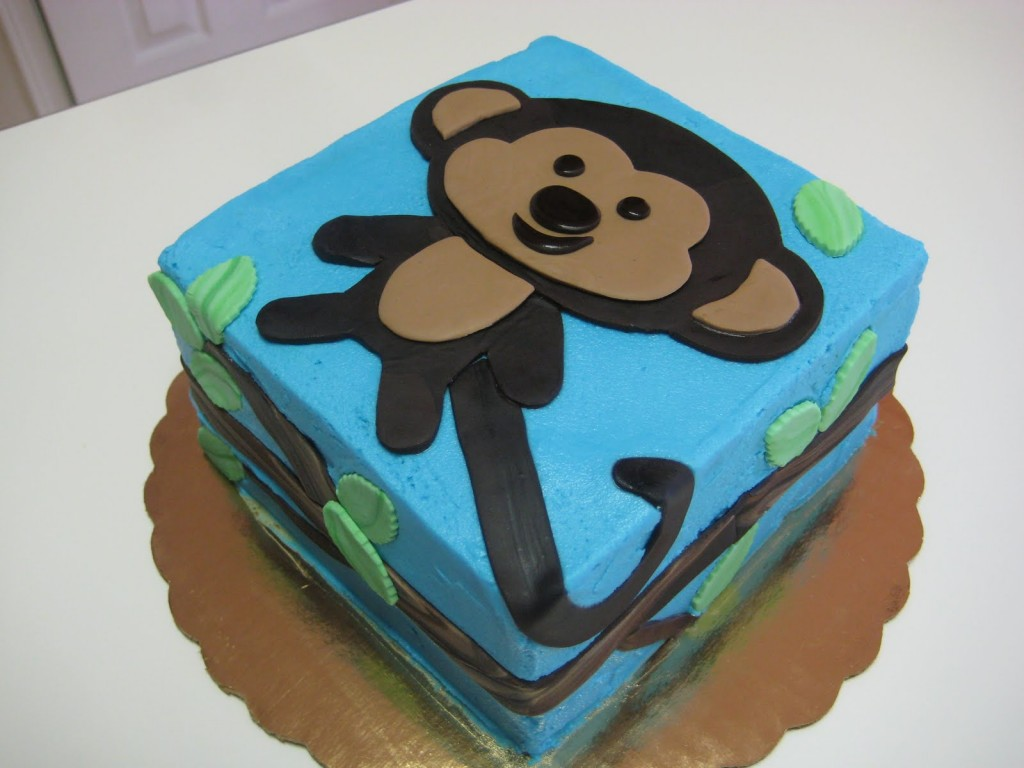 Monkey Cake Design