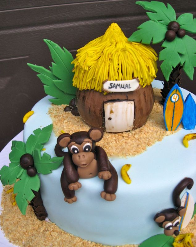 Monkey Cake Designs