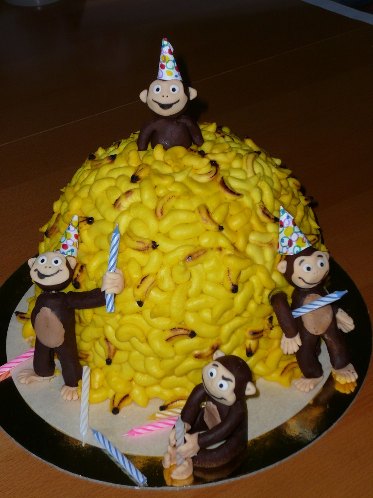 Monkey Cake Ideas