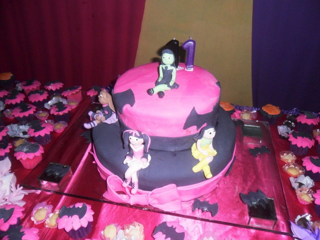 Monster High Birthday Cake Toppers
