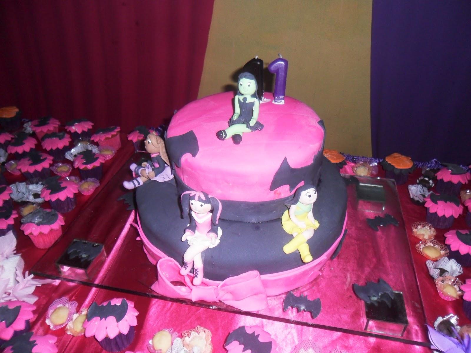 Pleasing Monster High Cakes Decoration Ideas Little Birthday Cakes Personalised Birthday Cards Beptaeletsinfo
