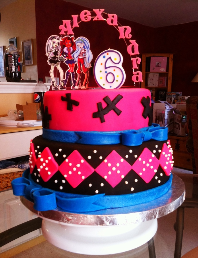 Monster High Cake Images