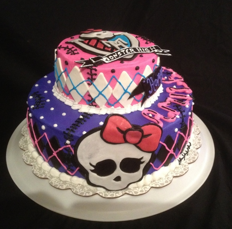 Monster High Cakes Pictures