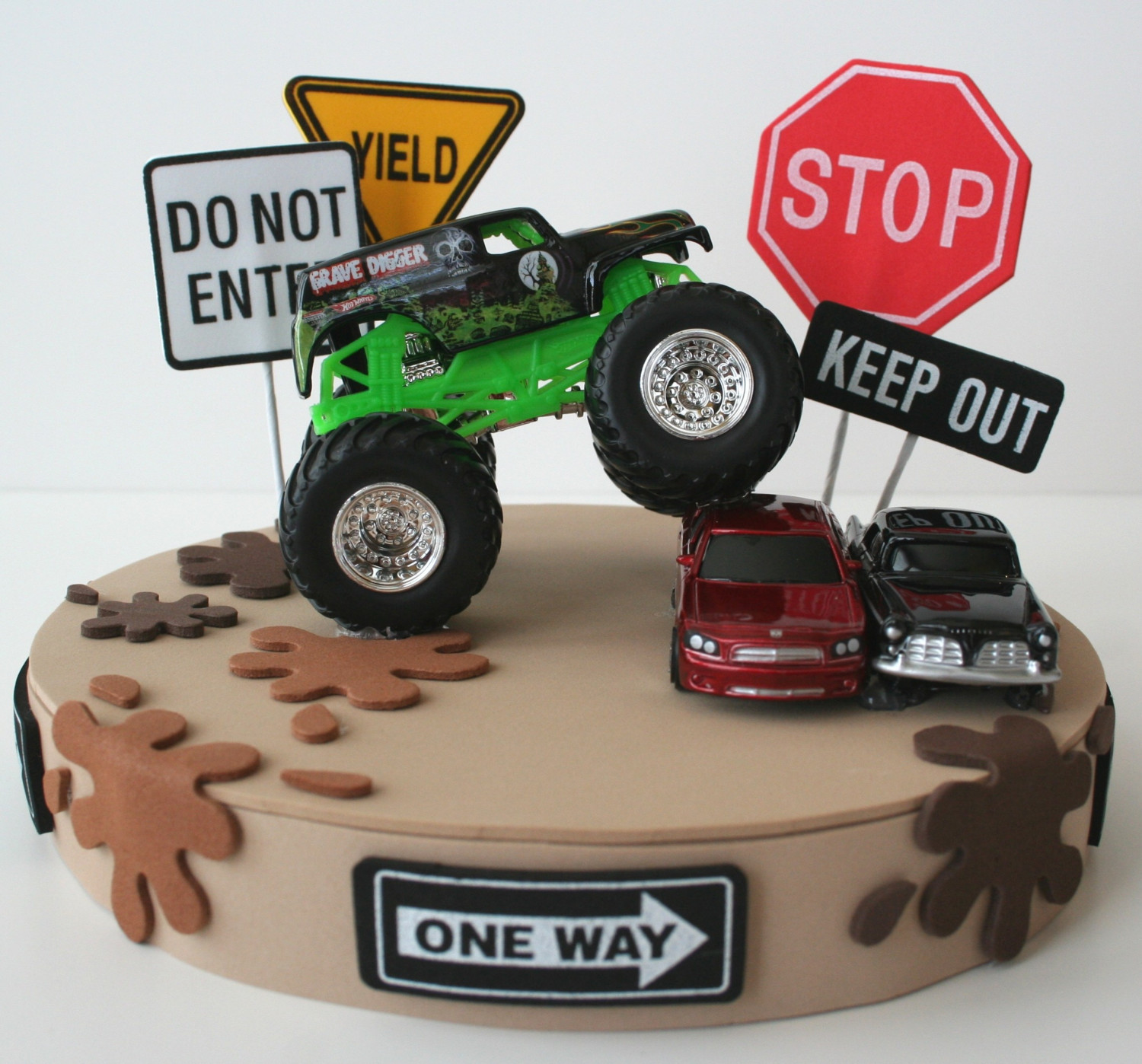 Monster Truck Birthday Cake Ideas