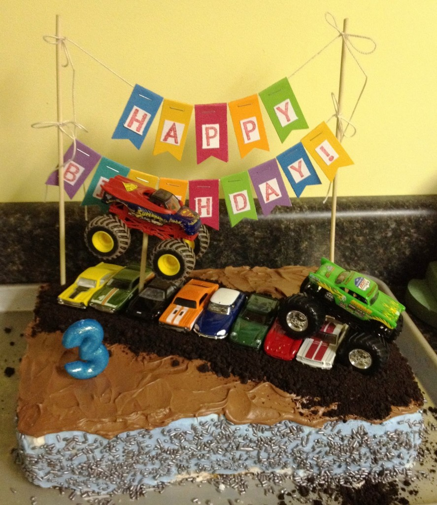 Monster Truck Birthday Cake Pictures