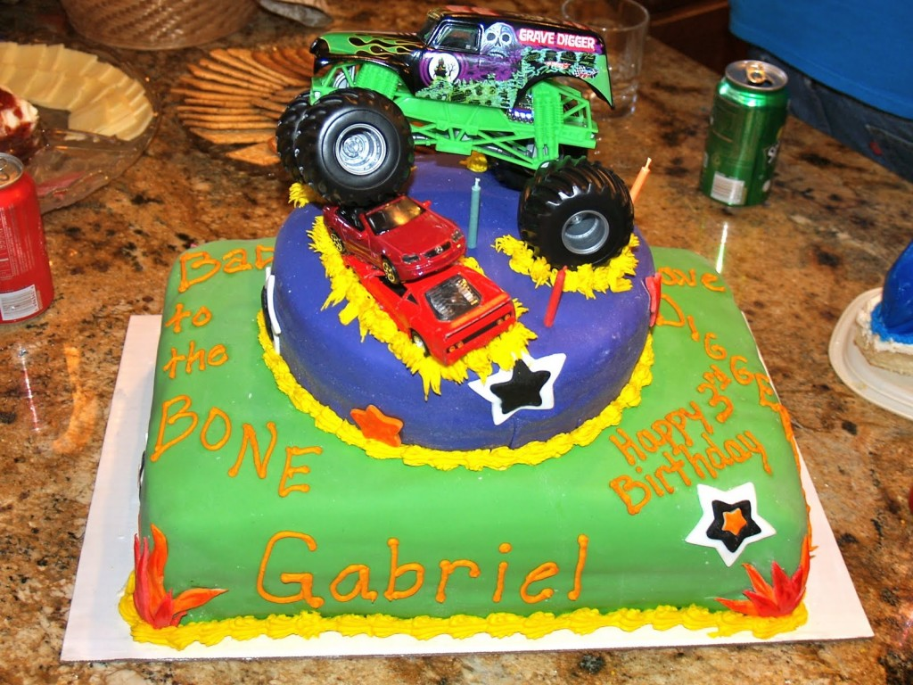 Monster Truck Cake Designs