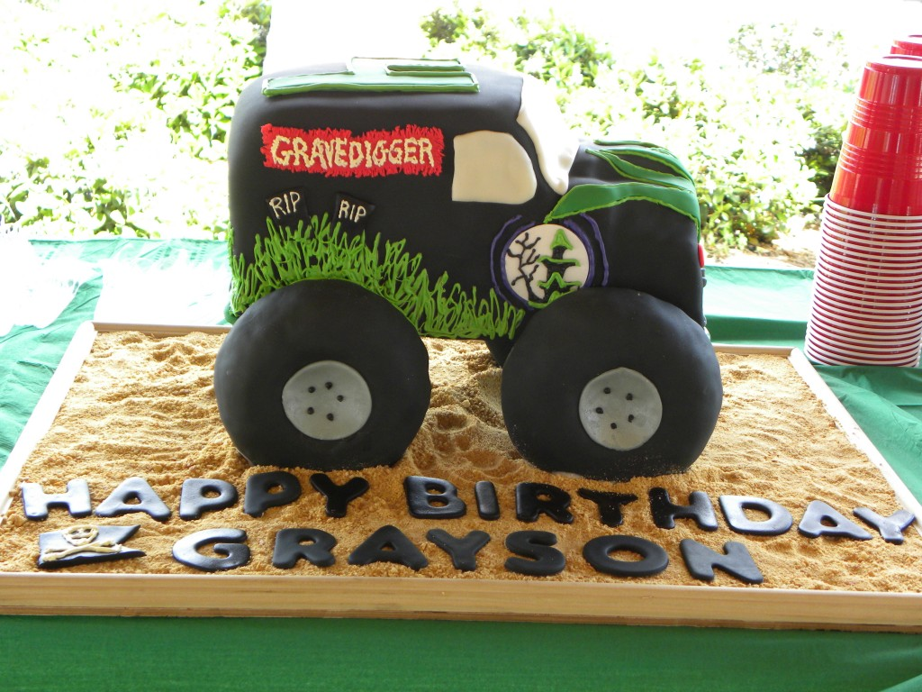 Monster Truck Cake Pans